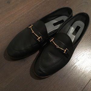 Topshop Black Loafer